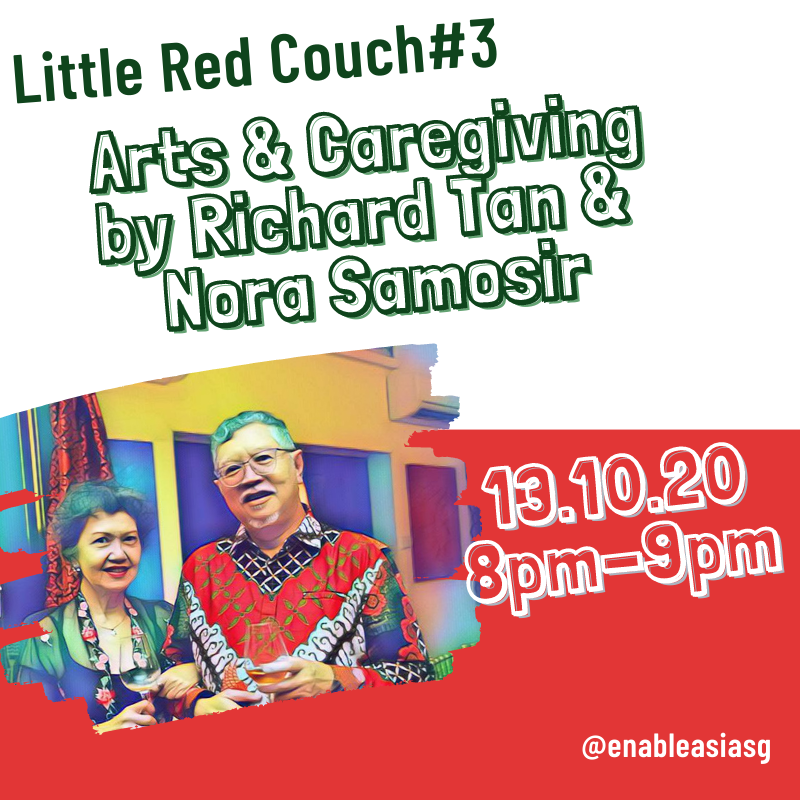 Little Red Couch#3: Arts and Caregiving