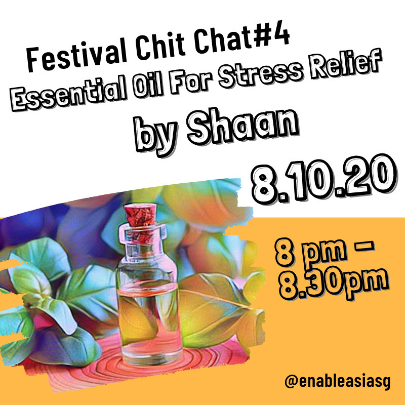 Festival Chitchat#4: Essential Oil for Stress Relief